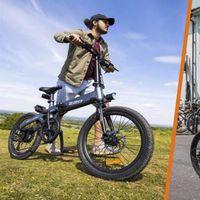Xiaomi HIMO Z20: una bicicleta eléctrica plegable con 80 kilómetros de autonomía y un precio de 623 euros