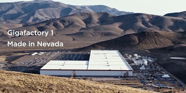 La Tesla Gigafactory 1 ya es la planta que más baterías de iones de litio fabrica en el mundo y sólo está al 30% de su tamaño