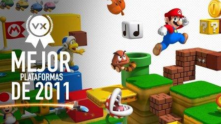 Mejor juego de plataformas de 2011 según los lectores de Vida Extra: 'Super Mario 3D Land'