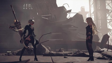 NieR: Automata muestra su colaboración con Final Fantasy XV y Dragon Quest en un nuevo tráiler