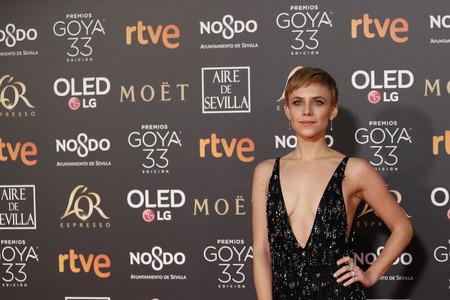 Premios Goya 2019: Aura Garrido se lleva el premio a la más sexy de la noche con este arriesgadísimo vestido de Roberto Cavalli