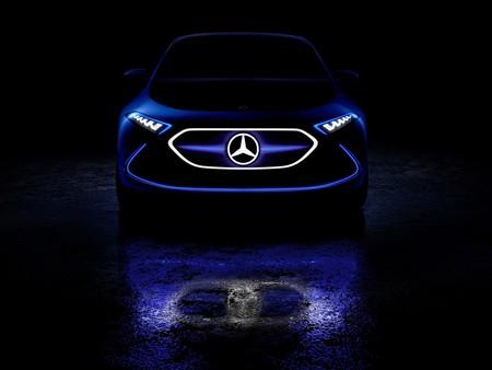 Mercedes-Benz comienza a mostrarnos el EQ A Concept antes de su debut en Frankfurt