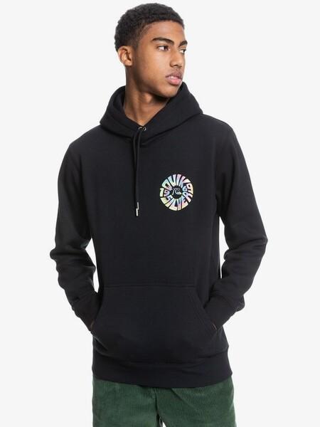 Sudadera Negra Con Logo De Colores