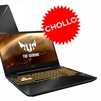 ¿526 euros por un portátil gaming de gama media? Todo un chollazo en eBay con el ASUS TUF Gaming FX505DT-BQ180, rebajado en 173 euros