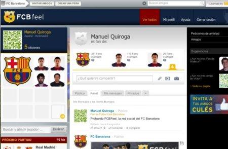 El FC Barcelona lanza su propia red social: FCBfeel