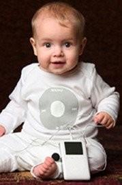 La ganadora de iPod My Baby 2005