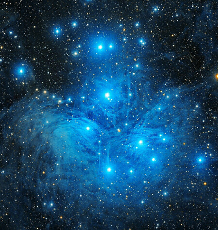 Pleiades Sisters C Jashanpreet Singh