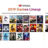 Stadia añade otros 10 juegos de lanzamiento más: son en total 22
