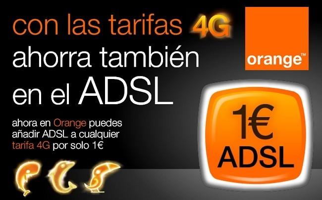 Orange ADSL por 1 euro
