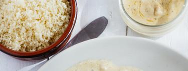 Chuletas de res en salsa cremosa de mostaza. Receta fácil y rápida