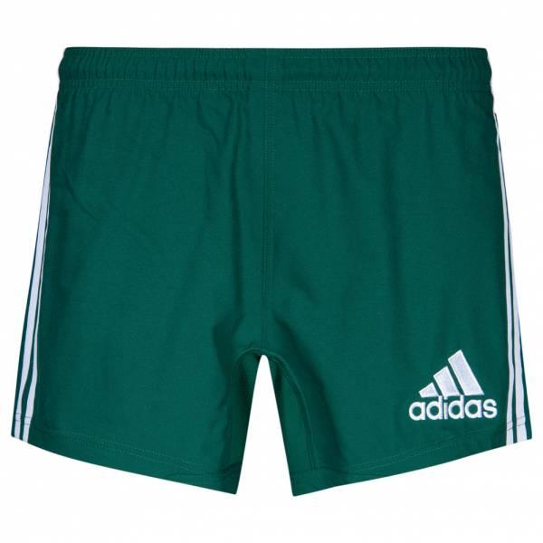Adidas 3 Stripes Hombre Pantalones cortos de rugby P00706
