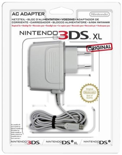 Nintendo 3DS XL - Adaptador de corriente