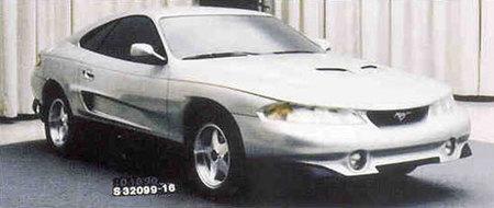 Ford Mustang Rambo Prototype