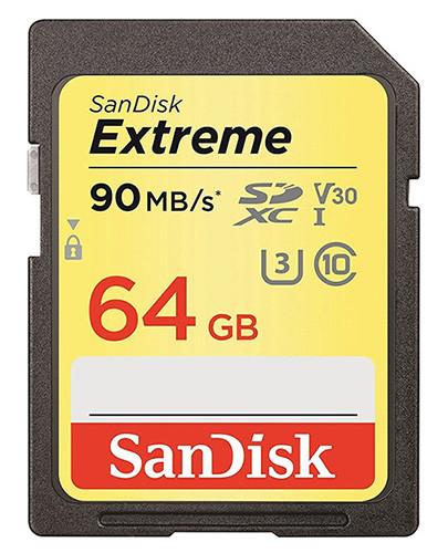 Sandisk Xtreme 64g