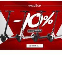 iWatRoad: patinetes eléctricos con un 10% de descuento utilizando este cupón