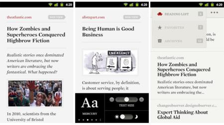 Readability da el salto a Android