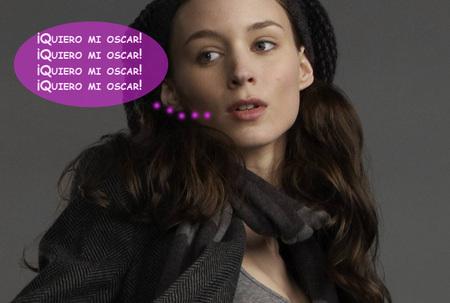 ¡¡Rumore, rumore!! Rooney Mara... ¿llorando a moco tendido por perder el Oscar?