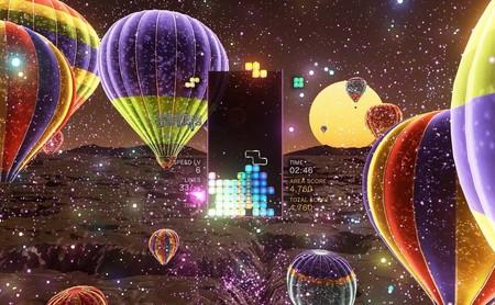 La versión para PC de Tetris Effect, exclusiva de Epic Games Store, requiere el uso de Steam VR para jugar con la realidad virtual