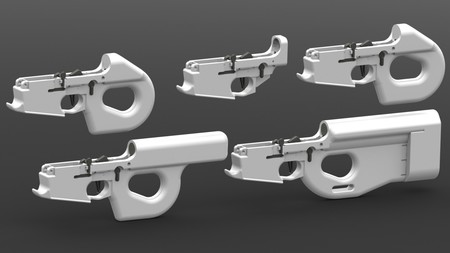 Charon Line Of 3d Printable Ar 15 Lower Receivers By Shanrilivan