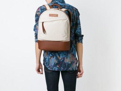 Exquisito vintage: mochila de WANT Les Essentiels de la Vie