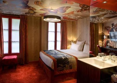 Christian Lacroix viste un hotel de alta costura, Le Bellechasse de Paris