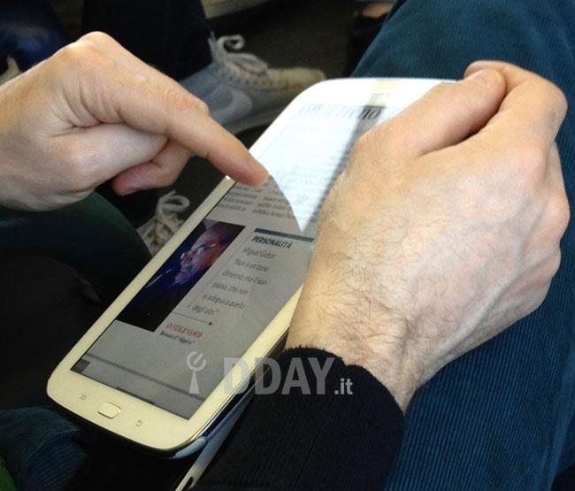 Samsung Galaxy Note 8.0, sus primeras fotos reales