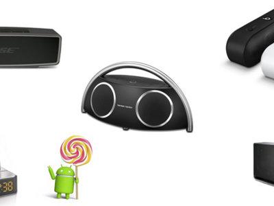 Cinco altavoces portátiles para usar con tu terminal Android dentro de casa