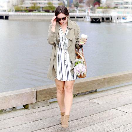 Rayas Estampado Moda Blogger