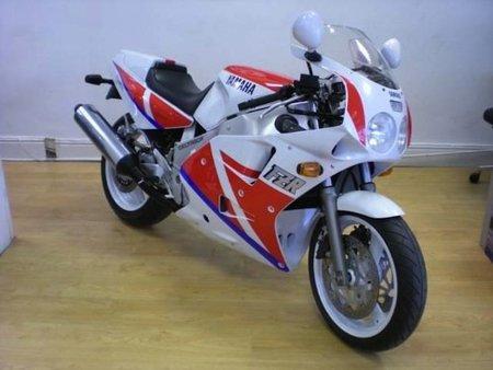 ¿Te apetece una Yamaha FZR 1000 Exup del 89?
