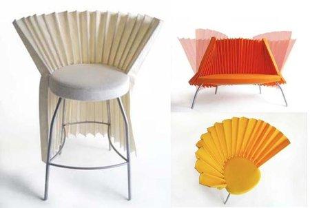 Las sillas abanico, de Hiroki Takada