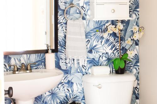 Antes y después: o cómo convertir un baño muy soso en un aseo sofisticado