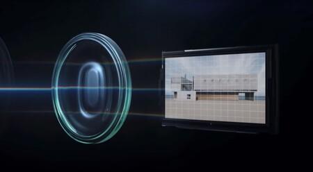 La lente de la cámara Ultra Wide Cine Camera del Huawei Mate 40 Pro+