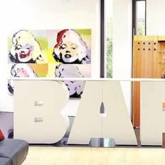 Foto 6 de 12 de la galería alphabet-furniture-decorar-con-palabras en Decoesfera