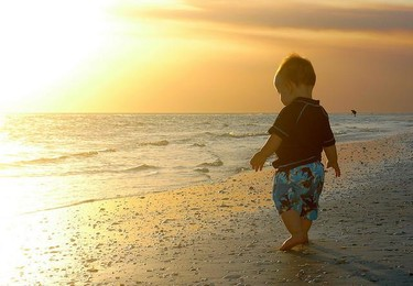 La foto de tu bebé en agosto: de vacaciones