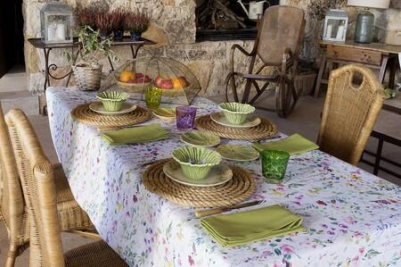 Cómo poner una mesa de verano