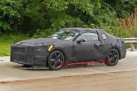 Nuevo Mustang 2015 ¡Captado In Fraganti!