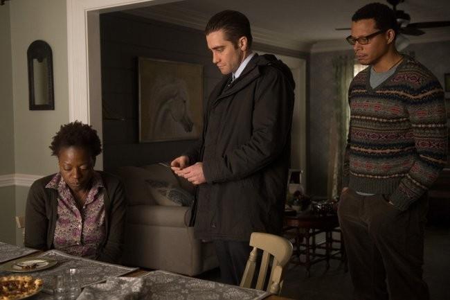 Gyllenhaal junto a Viola Davis y Terrence Howard en Prisioneros