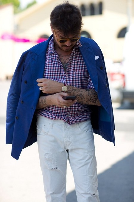 Street Style smart casual