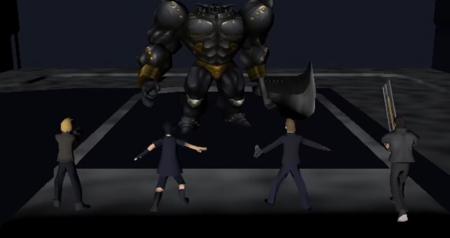 Un fan se imagina cómo sería Final Fantasy XV en la primera PlayStation