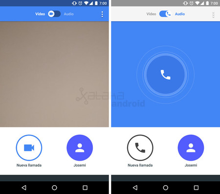 Llamadas Google Duo