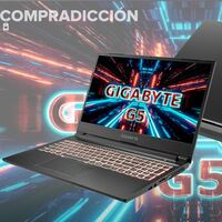 Este portátil gaming Gigabyte Aorus G5 lleva 300 euros de rebaja y tarjeta gráfica RTX3060