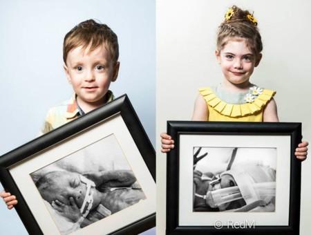 Esperanzadora colección de fotos de niños y adultos que nacieron prematuros