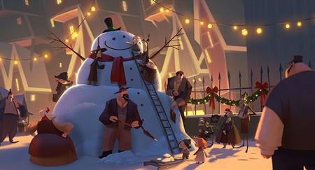 Klaus Peliculas De Navidad De Netflix
