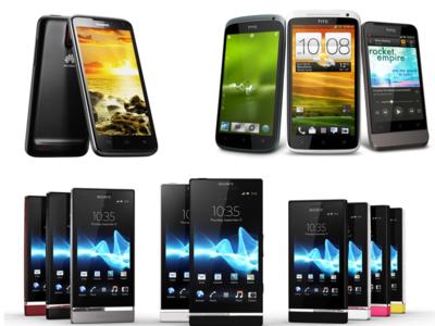 Los cinco teléfonos del día cero del MWC 2012