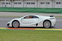 El GTA Spano se pone a punto en el Circuito de Cheste