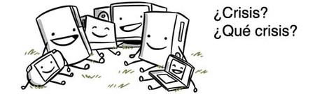 El sector de videojuegos esquiva la crisis