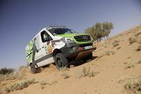 Curiosidades en Competición: una Mercedes-Benz Sprinter 4x4 para el desierto