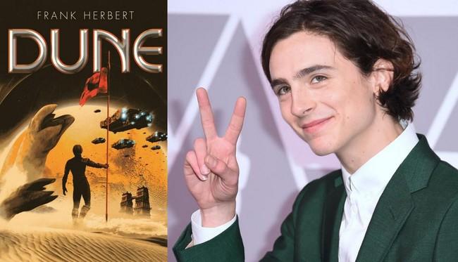 Timothee Chalamet protagonizará Dune