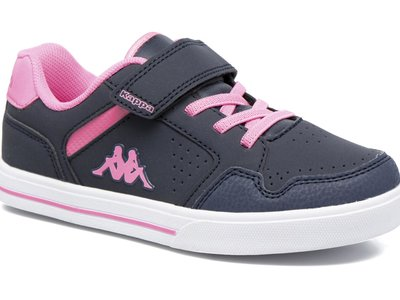 Zapatillas Kappa para niña en negro y rosa modelo Virgaho por sólo 16,50 euros en Sarenza. Envío gratis