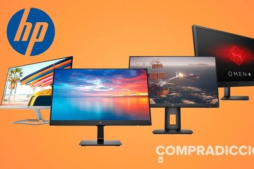 HP Week en Amazon: monitores gaming y de trabajo a los mejores precios
